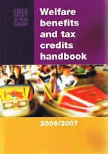 WELFARE BENEFITS AND TAX CREDITS HANDBOOK 2007/2008 by CAROLYN GEORGE