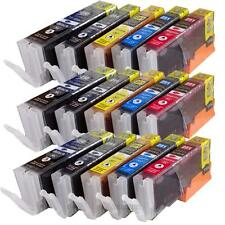 15 Pack PGI-250XL CLI-251XL Compatible Ink For Canon Pixma MX722 MX922