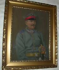 Preußischer Offizier Porträt A.Kohl 1916 Preußen Säbel GOTT MIT UNS Düsseldorf