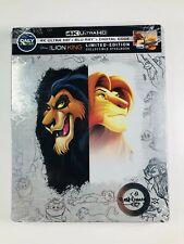Disney Lion King Steelbook 4K UHD + Blu-Ray + Digital