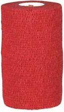 """Powerflex Bandage 4""""x 5 Yard Roll, RED"""