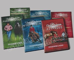 Clinton Anderson Fundamentals, Intermediate & Advanced Complete Set 32 Dvd