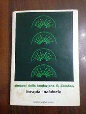 L65> Terapia inalatoria  parte prima - simposi della fondazione G. Zamon - 1970
