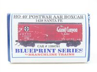 HO Scale Branchline Blueprint Series Kit 1438 ATSF Santa Fe Box Car #1398791