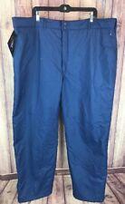 NWT Cabelas Mens Size 46 Thinsulate Goretex Blue Ski Snow Pants NEW J6r
