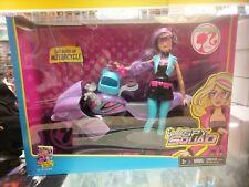 Barbie Spy Squad Cat Burglar Motorcycle & Cat Burglar Doll Playset Rare Gift Set