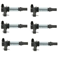 Set of 6 Bosch Direct Ignition Coils for Buick Enclave Saab Cadillac GMC Saturn