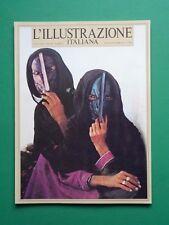L'ILLUSTRAZIONE ITALIANA Agosto Settembre 1983 Manet Cunningham Imogen Rimbaud