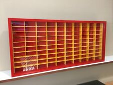 Display case cabinet for 1/64 diecast scale cars (hot wheels, matchbox)-100NRW-1