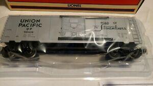 Lionel 6-39208 UNION PACIFIC BE SPECIFIC BOXCAR. NIOB from 2000. Unused.