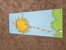 Dr Seuss - Earth Friendly Lorax Serigraph Print ORANGE - 183/250 with COA