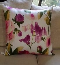 """Braemore Fabric/Water Color Pillow/Cover $25.00 ea./ 4 Available / 20"""" x 20"""""""