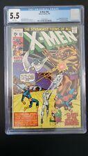 X-Men 65 (Uncanny, 1970)  CGC 5.5  * Fantastic Four Cameo *