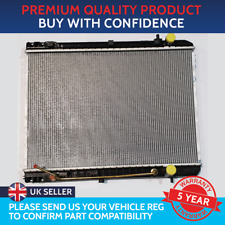 NEW RADIATOR KIA SEDONA  CARNIVAL 2.9 CRDI  MANUAL AND AUTOMATIC  1998 TO 2005