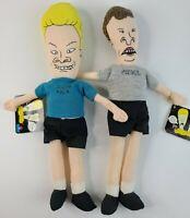 Vintage 1993 MTV Beavis and Butt-Head Soft Sculpt Doll Plush Dolls