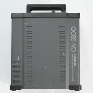 COMET CA-3200 asymmetry FLASH STROBE GENERATOR POWER PACK /  SOLD AS IS / READ!
