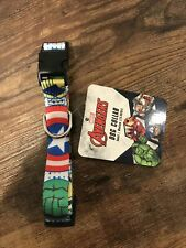 Marvel Avengers Dog Collar Size Small 15-35lbs New