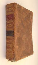 DICTIONNAIRE ABREGE DE BOYER T1 FRANCAIS - ANGLAIS / RELIURE CUIR 1827