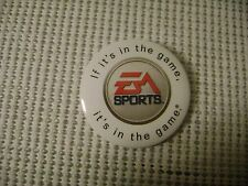 PIN BADGE BUTTON If it's in the game EA SPORTS it's in the game ELECTRONIC ARTS