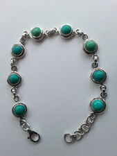 Turquoise Sterling Silver Handcrafted Bracelets