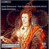 Dowland: Complete Solo Lute Music, Jakob Lindberg, Audio CD, New, FREE & Fast De