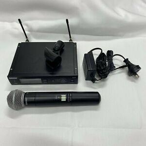 Shure SLX2 SM58 Handheld Microphone & SLX4 Wireless Receiver