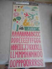American Crafts Studio Calico - Print Shop Alphabet and stickers 331734