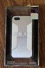more. Para Blaze X Case Cover for iPhone 5/5s/SE Aluminium/Glosy White BRAND NEW