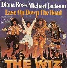 "Michael Jackson Diana Ross Ease on down the road (7"" Single UK - 1978)"