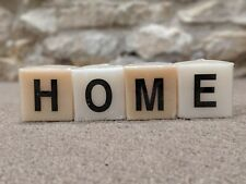 HOME Candle blocks Letter AB