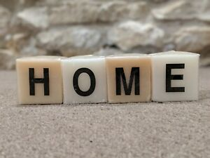 HOME Candle blocks Letter Dz