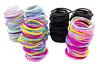 100 x Mini Children Baby Girls Elastic Hair Bands Bobbles Colour Hair Elastic