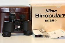 NIKON  E  10 X 35     binoculars ....   NEW IN BOX.....wow