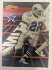 1994 PINNACLE STARFLICS EMMITT SMITH Football Card #177  DALLAS COWBOYS