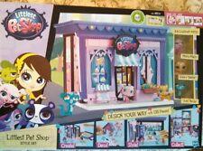 New Littlest Pet Shop Style Set You Decorate Design Dollhouse + 3 Exclusive Pets