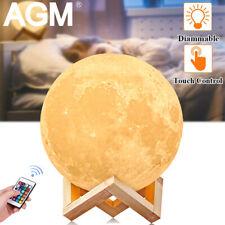 LED Mond Lampe 3D Nachtlicht Moo...