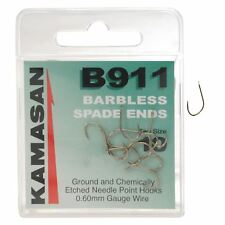 Kamasan B911 Barbless Spade Hooks - Coarse Fishing Terminal Tackle