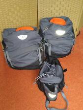 Vaude Gepäckträgertasche Hinterradtaschen Set mit Regenschutz