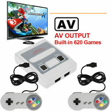 Super SNES SFC Mini Family TV Video Game Console Retro AV Out Built-in 620 Games