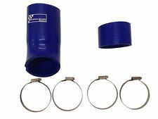 Ford Focus RS Mk3 Blue Air Induction Silicone Hoses With Stainless Steel Clips