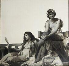 VINCENT ADERENTE-Italian/NY Realist-Original Signed Oil-Greco-Roman Women