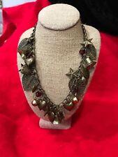 Vintage Dangling Heart Necklace