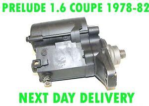 FITS HONDA PRELUDE 1.6 COUPE 1978 - 1982 STARTER MOTOR