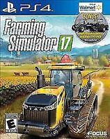 Farming Simulator 17 Walmart Exclusive (Sony PlayStation 4, 2016) NEW