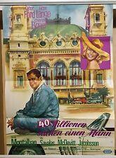 40 MILLIONEN SUCHEN EINEN MANN | Original Filmplakat EA 1963 | Glenn Ford