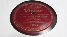NELLIE MELBA VICTOR 78 RPM RECORD 88071 LUCIA