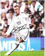 David Beckham (England)  8 x10 Reprint Signed Photo.