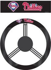 Philadelphia Phillies Steering Wheel Cover MLB Baseball Team Logo Poly Mesh