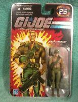 DUKE first sergeant IGI joe 25th anniversary foil card figure