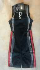 Huub Albacore Swimskin Mens Medium Black/Red Triathlon Swimming - New In Box